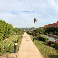 Photo taken at Cancun Beach Resort by Yusuf S. on 1/13/2013