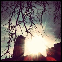 Photo taken at Eugenie Triangle Park by Anu G. on 1/7/2013