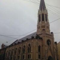 Снимок сделан в Лютеранская церковь Святого Михаила пользователем Ольга А. 4/14/2013