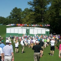 Photo taken at Augusta National Golf Club by Mark B. on 4/10/2013
