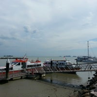 Photo taken at Anjung Batu Jetty - Melaka by Naqiu F. on 1/26/2013
