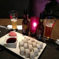 Photo taken at Silk Sushi Bar by Mika K. on 4/2/2013