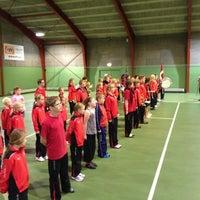 Photo taken at Tennishallen by Steffen G. on 11/18/2012
