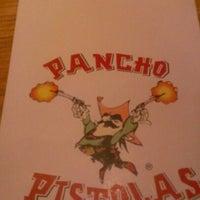Photo taken at Pancho Pistolas by Frankie V. on 11/11/2012