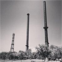 Photo taken at Fundidora Park by Ponch V. on 4/1/2013