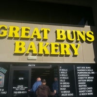 Photo taken at Great Buns Bakery by @RainbowSteph B. on 1/30/2013