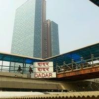 Photo taken at Dadar Railway Station by Saif K. on 2/14/2013