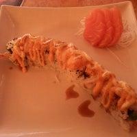 Photo taken at Sushi Island by T. Daphne V. on 4/10/2013