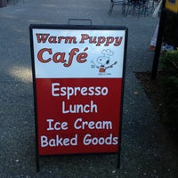 Photo taken at Warm Puppy Cafe by Kelly . on 1/27/2013