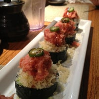 Photo taken at Kanpai Japanese Sushi Bar & Grill by Sabrina K. on 3/12/2013