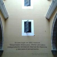 Foto tomada en Museo del Periodismo y Las Artes Gráficas (MUPAG) por Héctor B. el 3/15/2013