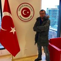Photo taken at Consulate General of Turkey by Yavuz K. on 3/13/2017