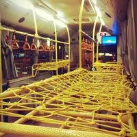 Photo taken at Inter-Airport Shuttle Bus (BKK-DMK) by MiniMe on 12/1/2013