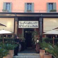 Photo taken at Grand Café de la Poste by Kamran G. on 2/8/2013