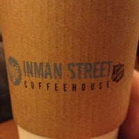 Photo taken at Inman Street Coffeehouse by Jim D. on 3/8/2013