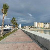 Foto tomada en Playa de La Farola por Leandro d. el 1/1/2013
