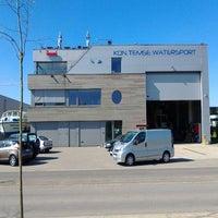 Photo taken at Koninklijke Temse Watersport Vereniging by Robin P. on 5/4/2013