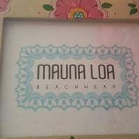Photo taken at MaunaLoa beachwear by Maria Carolina K. on 6/9/2014