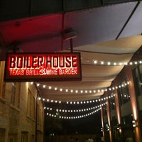 Photo taken at Boiler House Texas Grill & Wine Garden by John T. on 8/11/2013