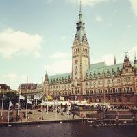 Photo taken at Hamburger Rathaus by vAns on 6/29/2013