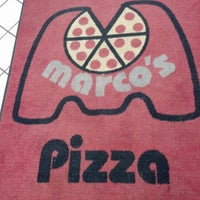 Photo taken at Marco's Pizza by Scott M. on 1/12/2013