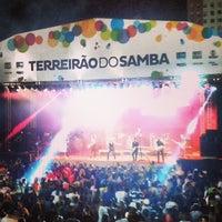Photo taken at Terreirão do Samba by Fernanda L. on 3/1/2014