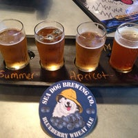Photo taken at Sea Dog Brewing Co. by Patrick M. on 6/16/2013