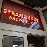 Photo taken at Steamworks Brewing Company by Ernesto Q. on 5/26/2013