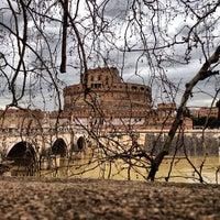 Photo taken at Giardini di Castel Sant'Angelo by Patricio on 3/20/2013