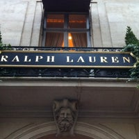 Photo taken at Ralph Lauren by Tomás D. on 10/29/2012