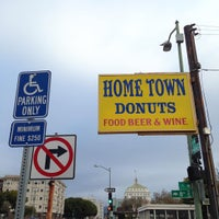 Photo taken at Hometown Donuts by David Z. on 1/9/2016