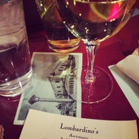 Photo taken at Lombardino's Restaurant by Julie H. on 2/16/2013