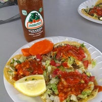 Photo taken at El Super Antojito-Taco Truck by Laura F. on 5/16/2014