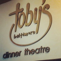 Photo taken at Toby's Dinner Theatre by Renée G. on 4/11/2013
