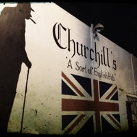 Photo taken at Churchill's Pub by Vicky A. on 9/14/2012