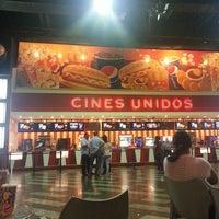 Photo taken at Cines Unidos by Carolina G. on 10/24/2013