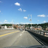 Photo taken at Homestead Grays Bridge by Dorey on 7/14/2013