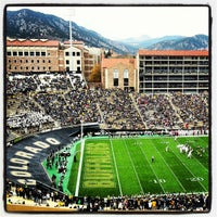 Photo taken at Folsom Field by David C. on 11/3/2012