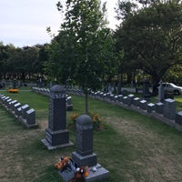 Photo taken at Titanic Graves (Fairview Lawn) by Emily Y. on 8/17/2017
