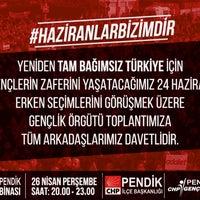 Photo taken at Chp Pendik İlçe Başkanlığı by Zeynep Duygu M. on 4/26/2018