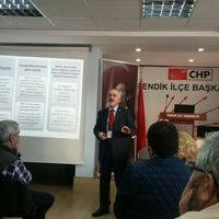Photo taken at Chp Pendik İlçe Başkanlığı by Zeynep Duygu M. on 4/3/2016