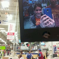 Photo taken at Lowe's Home Improvement by Morgan T. on 11/28/2012