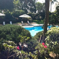 Photo taken at Las Mañanitas Hotel, Garden, Restaurant & Spa by Zury D. on 1/7/2013