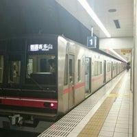 Photo taken at Sakaemachi Station (ST01) by さと氏 on 7/20/2015