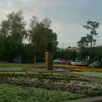 Photo taken at Памятник Ю.А. Гагарину by Vivian V. on 7/24/2015