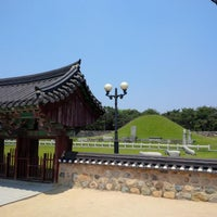 Photo taken at Tomb of King Suro by The Korean Star Moksama K. on 5/25/2015