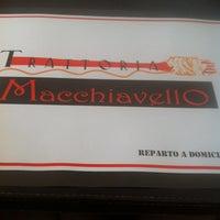 Photo taken at Trattoria Macchiavello by Constanza N. on 4/20/2013