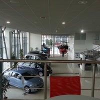 Photo taken at Citroen HQ by La F. on 4/19/2013