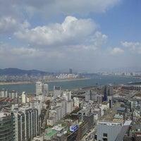 Photo taken at ASEM Tower by Eri P. on 4/9/2013
