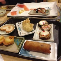 Photo taken at Fuji Sushi Boat & Buffet by Krystle M. on 12/19/2012